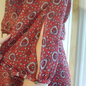 Boho flirty dress